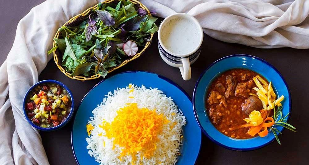 دستور پخت قیمه زعفرانی