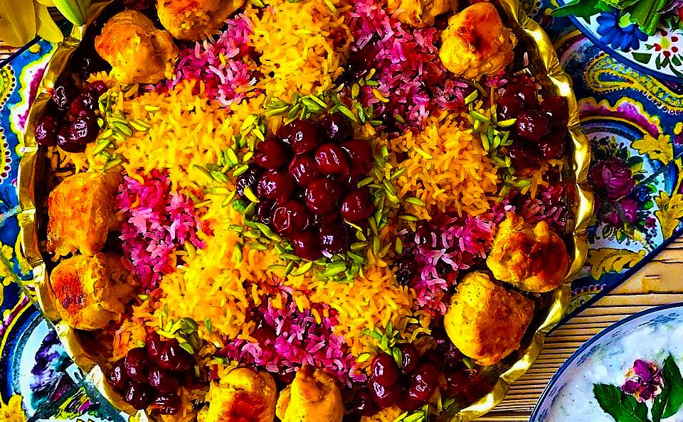 برنج ایرانی زعفرانی
