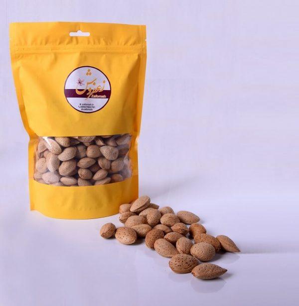 قیمت بادام سنگی شیرین زعفروش