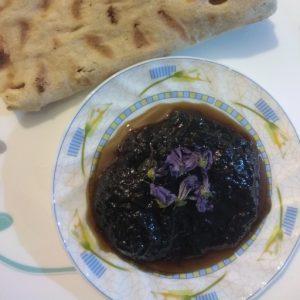 عکس مربای گلبرگ بنفش زعفران + دستور پخت و طرز تهیه مربای گلبرگ زعفران