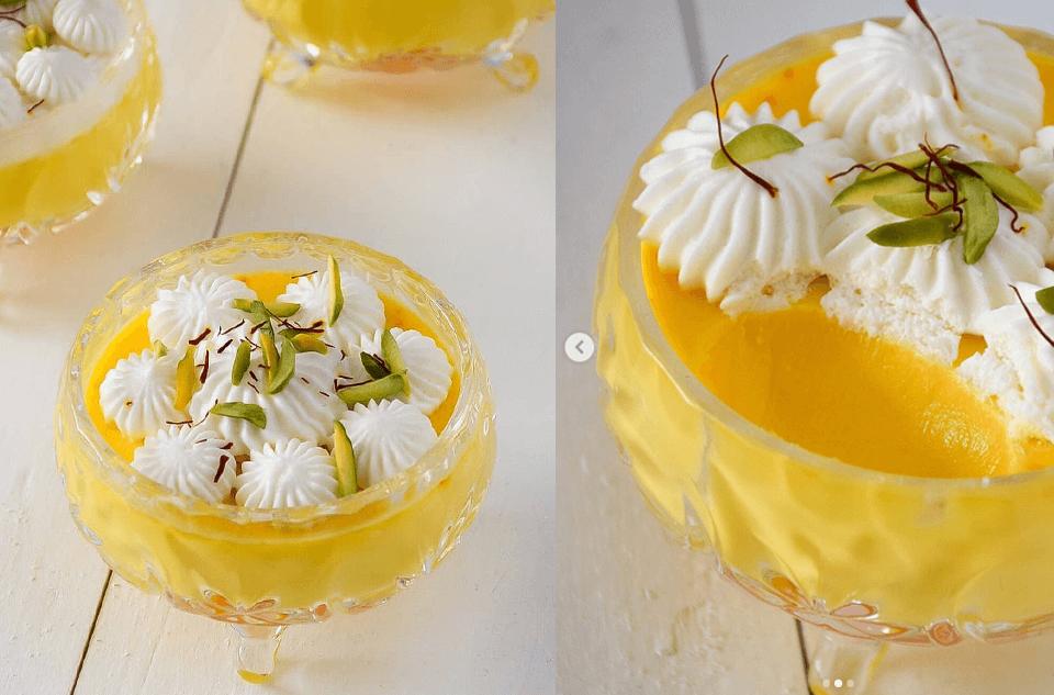 دستور پخت انواع دسر های خوشمزه زعفرانی